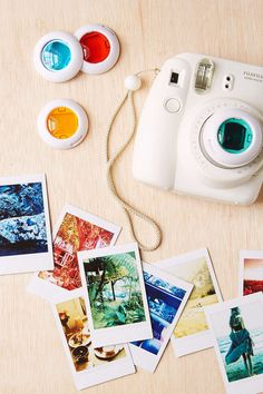 Fujifilm Instax Lens Filter Set, Loving the awesome colour effects these babies put into the photographs produced.
