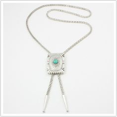 oval inset bolo chain by fortune favours the brave. $ 95