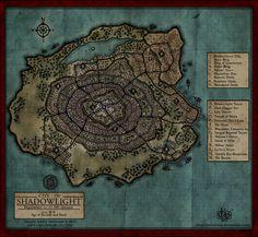 Shadowlight City Map by Levodoom.deviantart.com on @deviantART