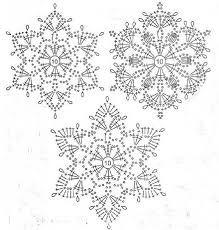 Картинки по запросу снежинки крючком
