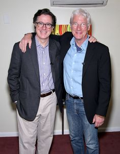 Stephen Colbert Photos: 2015 Montclair Film Festival: In Conversation With Richard Gere, Hosted By Stephen Colbert