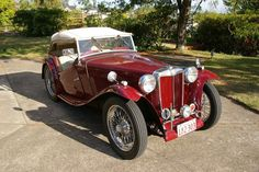 1948 MG T-Series TC