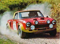 1975 Fiat 124 Abarth Spider