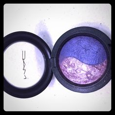 """Mac Mineralize eyeshadow duo Mac eyeshadow duo in color """"pink Union"""" lightly used, at least 90% of product left. 100% authentic. MAC Cosmetics Makeup Eyeliner"""