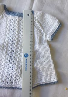 Blog Abuela Encarna: 2020 Activated Carbon Filter, Macarons, Baby Knitting, Baby Dresses, Tricot, Knit Baby Dress, Handmade Baby Clothes, Baby Knits, Baby Vest