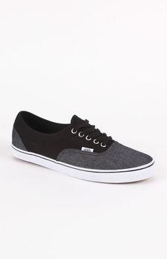 Vans Chambray Black Shoes
