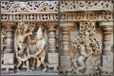 25 panels depict the life of Lord Krishna and the remaining 45 panels depict the Epic Mahabharata.