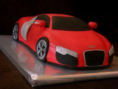 Audi Cake – Audi Cake - Cars and motor Ferrari Cake, Doodle Cake, Allroad Audi, Black Audi, Prosecco Cocktails, Cake Logo, Miami Vice, Audi A5, Fancy Cakes