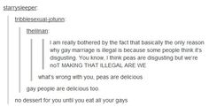 I love all of Tumblr's text posts.