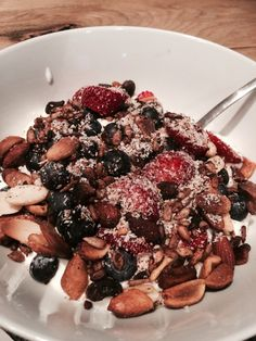 Homemade Breakfast Granola Recipe