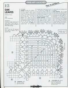 Oak Leaves diagram