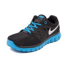 Tween Nike Flex Run Athletic Shoe