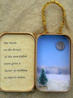 altoid tin Christmas ornament
