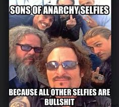 Sons Of Anarchy Selfies