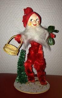 Merry Christmas And Happy New Year, Christmas Elf, Christmas Ornaments, Norwegian Christmas, Scandinavian Christmas, Amy Tan, Vintage Postcards, My Childhood, Nostalgia