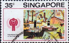 Singapore 1979 Year of thr Child SG 357 Fine Used SG 357 Scott 330 Other British Commonwealth Empire and Colonial stamps Here