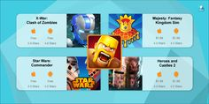 If you're a hardcore Clash of Clans fan, you'll love these games as well! #indiedev #mobilegames #gameapps #indiegame