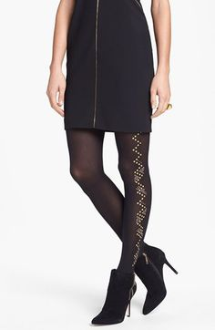 Pretty Polly 'Glitzy' Embellished Tights available at #Nordstrom
