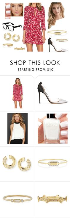 """""""Bez tytułu #18717"""" by sophies18 ❤ liked on Polyvore featuring Privacy Please, Gianvito Rossi, Forever 21, Sis Sis, Zoya, Ippolita, Jemma Wynne, Sydney Evan and Armenta"""