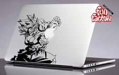 Goku Dragonball Z Macbook Decal Sticker  0202mac by FunDecalFactory on Etsy