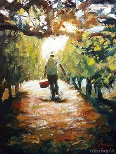 Tuscan Farmer by Los Angeles artist Christopher Clark.