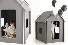 """Maja"" playhouse. Originally pinned by Tiger Wallman Hellström onto For Billie, Ollie and Charlie. Via Ashley G"