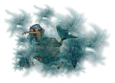 """The Mermaid (For Kskafida)"" by jbeb ❤ liked on Polyvore featuring art"