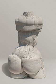 Jeff Muhs, Concrete Torso 2013, Concrete