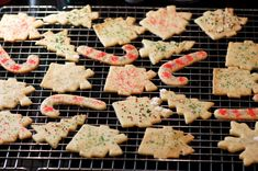 Baked Sand Tart Cookies Cooling on Rack Coconut Recipes, Tart Recipes, Sand Tarts, Ultimate Chocolate Cake, Delicious Desserts, Yummy Food, Cookie Desserts, Cookie Recipes, Coconut Cookies