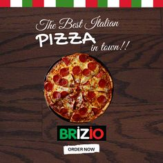 People love Brizio Pizza! So, will you'll do… Try out the best Italian Pizzas in town. #SantaAna #LakeForest #LovePizza #BestInTown