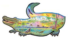 Gator Tales 1000 Piece Puzzle