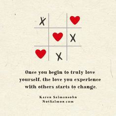 Once you begin to boost your #selflove, the #love you experience with others starts to change. More #inspirational quotes on my #instagram page. Self Love Quotes, Me Quotes, Karen Salmansohn, Love You, Photo And Video, Relationships, Instagram, Inspirational Quotes, Change
