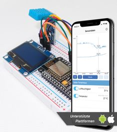 Basic ambient temperature and humidity sensor Tutorial - Sensate - Smart 'Do it Yourself' for everyone Esp8266 Wifi, Humidity Sensor, Usb, Temperature And Humidity, Arduino, Smartphone, Basement, Water Damage, Projects