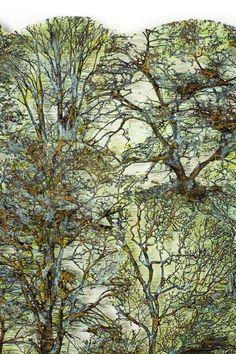 Lesley Richmond artwork on ShiboriLove: December 2012 Fiber Art Quilts, Textile Fiber Art, Textile Artists, Art Quilting, Nature Artists, Found Art, Learn Art, Fabric Art, Artwork