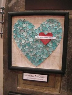 Heart Collecting 15 Button Craft Heart Inspirations for Valentines