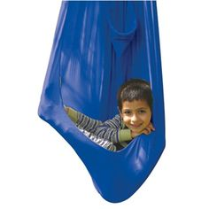 Therapy Sensory Swing is great for providing vestibular input for children with sensory processing disorder and autism. Deep pressure create calming effects. It is made of high quality stretching fabr Sensory Swing, Sensory Garden, Sensory Therapy, Sensory Tools, Vestibular System, Indoor Swing, Indoor Play, Sensory Issues, Sensory Diet