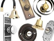Door bells, buter's bells in traditional and contemporary styles. All high quality finishes.