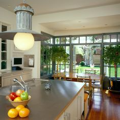 Conservatory Kitchen Design Ideas, Pictures, Remodel, and Decor