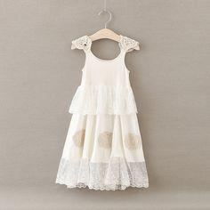 69.00$  Buy here - http://alis9q.shopchina.info/1/go.php?t=32776148215 - 2017 Girls summer lace condole belt dress , kids dresses for girls  , girls dresses for party and wedding,  5pcs/lot  BB058  #magazineonlinewebsite
