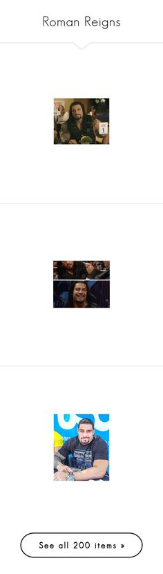 """""""Roman Reigns"""" by black-onyxx ❤ liked on Polyvore featuring wwe, roman reigns, wwe stars, home, home decor, accessories, people, hats, beanie and knit beanie caps"""