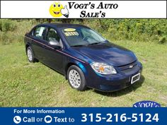 2010 *Chevrolet* *Chevy*  *Cobalt* *LS* $5,888  miles 315-216-5124 Transmission: Automatic  #Chevrolet #Cobalt #used #cars #VogtsAutoSales #Sherrill #NY #tapcars