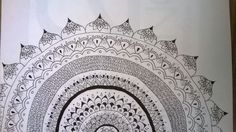 Mandala design draw by me