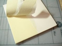 peeling paper layer