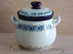 Polish Pottery XL Canister Tureen (Pattern 86)