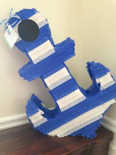 Nautical Birthday Cakes, Navy Party, Shark Party, Ideas Para Fiestas, Mom And Baby, Baby Boy, Reveal Parties, Birthday Decorations, Baby Boy Shower