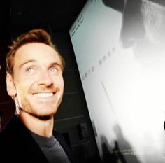 Michael Fassbender promoting 'Assassin's Creed' in China
