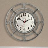 """Found it at Wayfair - 14"""" Round Compass Dial Wall Clock"""