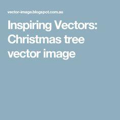 Inspiring Vectors: Christmas tree vector image