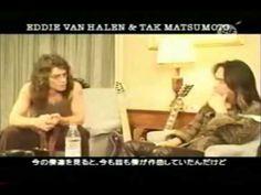 ▶ Van Halen & Tak. エディー・ヴァンヘイレン と 松本孝弘 対談②!! - YouTube