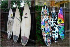 Surf board skins. MDS Board Conversion